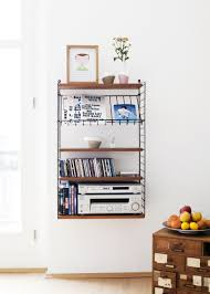 String Shelving by Tomado String Shelves Midcentury Oh Yes How About A Suspended