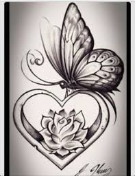 black roses and hearts tattoo blue and black rose tattoo yellow