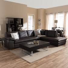 Sectional Sofa Sets Diana Brown Leather Sectional Sofa Set Free Shipping Today