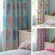 Ready Made Children S Curtains Ditsy Curtains Ebay