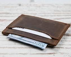 black friday mens wallet minimalist wallet etsy