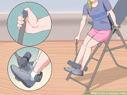 inversion table herniated disc how to use an inversion table 9 steps with pictures wikihow