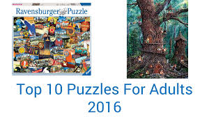 10 best puzzles for adults 2016