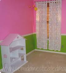 pink and green room baby girl nursery room with bright pink and lime green wall paint