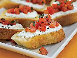 cheese and tomato toasts recipe myrecipes
