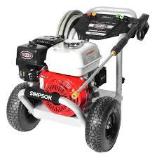 simpson powershot 3600 psi 2 5 gpm powered by honda simpson