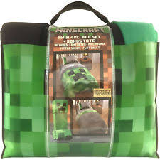 Minecraft Bed Linen - bedding minecraft bed in a bag jf25338wc ebay