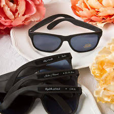 personalized sunglasses wedding favors plastic wedding favors personalized ebay
