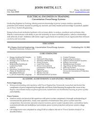 download electrical project engineer sample resume