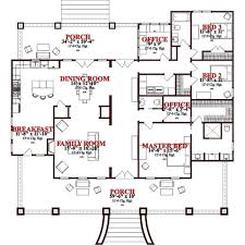 plantation home blueprints craftsman style house plan 3 beds 2 5 baths 2366 sq ft plan 63