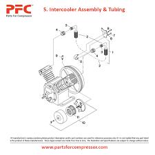 06 05 intercooler assembly u0026 tubing for 2340 ir 2340 parts