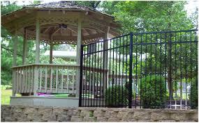 backyards ergonomic corrugated metal fences in the backyard 137