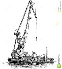 floating crane royalty free stock photography image 31013317