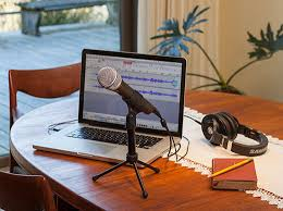 Computer Desk Microphone Samson Q2u Recording And Podcasting Pack