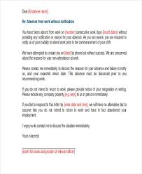 6 work warning letter template free word pdf format download