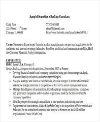 sample resume for bankers banking resume pdf free u0026 premium templates