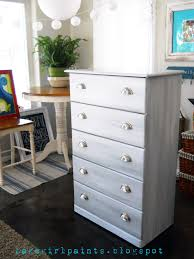 lake paints nickel gray and white dresser