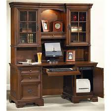 Lshaped Richmond Desk  Hutch SetI40307308317  Office Furniture