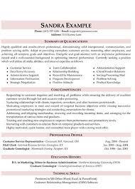 marketing resume summary of qualifications exle for resume customer service resume resume tips pinterest customer