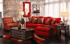 Red Living Room Chairs Decorating Using Color At Home Home Is Here