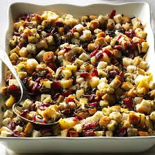 thanksgiving stuffing balls cranberry stuffing recipes taste of home