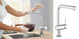 mitigeurs cuisine grohe robinet cuisine grohe minta touch cmr