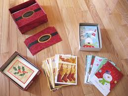 sew many ways thrifty thursday old christmas cards into save