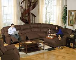 sectional sleeper sofa with recliners living room reclining sofas and sectionals sectional sleeper