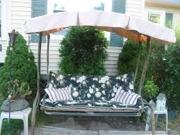 Outdoor Swing With Canopy Casual Living Southern Gentry 3 Person Garden Swing Dgrm 300
