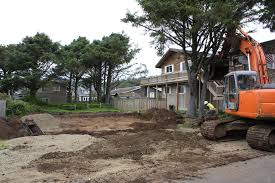 sayler dig out for new home foundation coaster construction