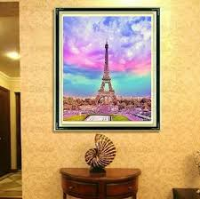 new diamond mosaic full diamond embroidery beads sky of paris