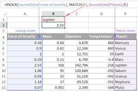 excel index function formula examples and most efficient uses
