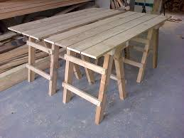 wooden trestle table legs image of trestle table legs amazing wooden trestle table 1