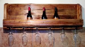 rustic wine u0026 glass rack creator creations