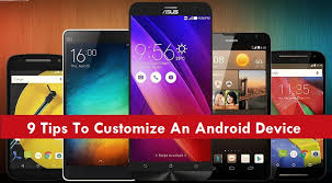 customize android 9 tips to customize an android device awok uae