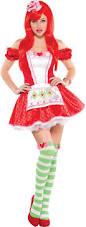 Grown Halloween Costumes Strawberry Shortcake Costume Piece Strawberry