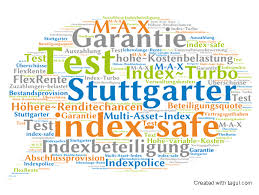 rentenversicherung mit indexbeteiligung indexpartizipation test stuttgarter index safe vorsorgekagne