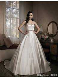 how to sell a wedding dress top sell luxurious satin a line wedding dress sweetheart