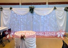 wedding backdrop on stage backdrops