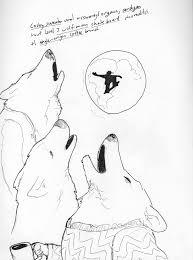 three wolf sweaters desksketch