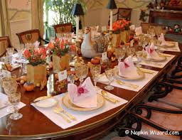 thanksgiving table for southern living magazine