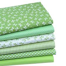 inee green quarters fabric bundles quilting
