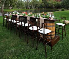 Whiskey Barrel Kitchen Table Wine Barrel Furniture Wine Barrel Table With Glass Top The Side