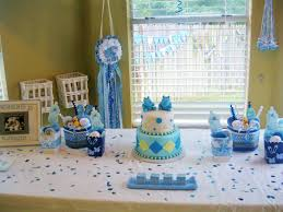 baby shower ideas for boy polkadots monkeys cakes party planner decorator
