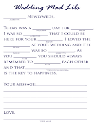 wedding mad lib template plan a pretty wedding wedding mad libs