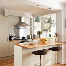 Pendant Lights Over Breakfast Bar Source Deborah Eldridge Lights