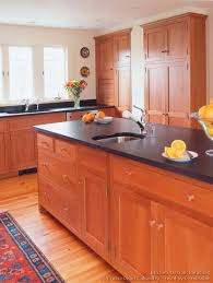 Wood Kitchen Cabinets Sofa Exquisite Light Cherry Kitchen Cabinets Magnificent Design