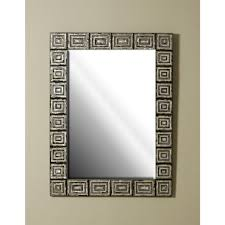 smith inlaid various penshells and mother of pearl mirror greek