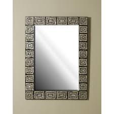 Greek Key Motif Smith Inlaid Various Penshells And Mother Of Pearl Mirror Greek