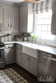 Grey Kitchens Cabinets 123 Grey Kitchen Cabinet Makeover Ideas Kitchens House And Gray